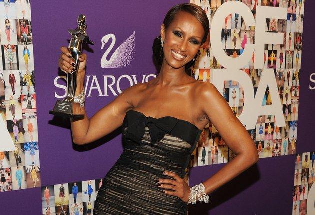 Iman Cfda Fashion Icon Award Winner 2010