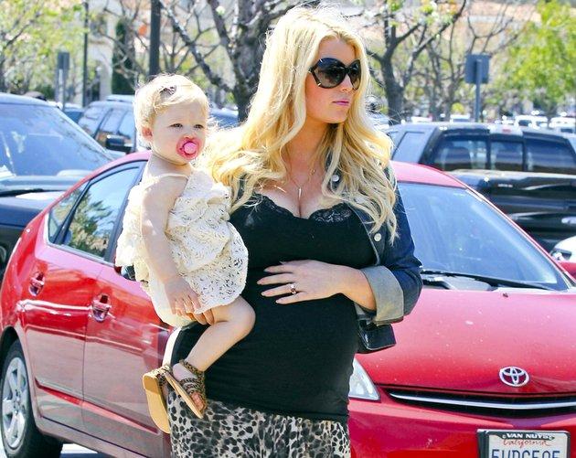 Jessica Simpson Second Baby Bump