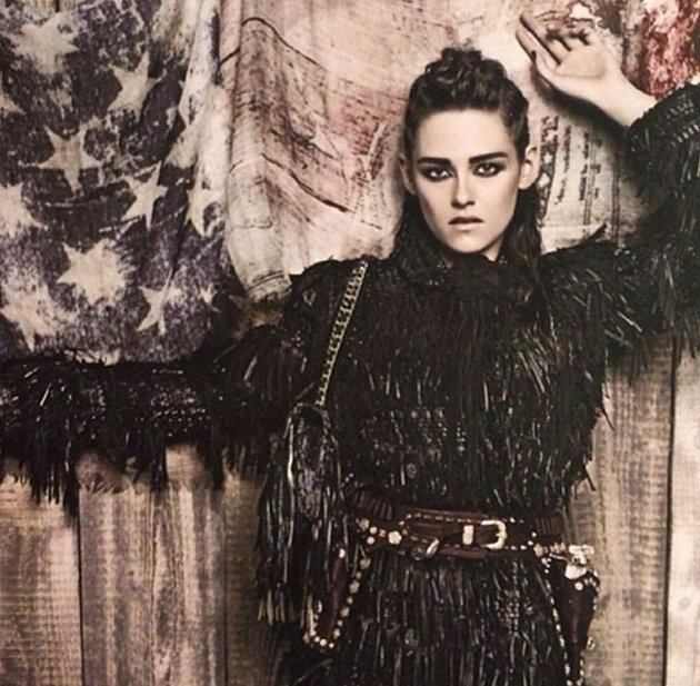 Kristen Stewart For Chanel Pre Fall 2014 Campaign