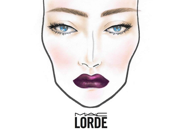 Mac Lorde Makeup Look