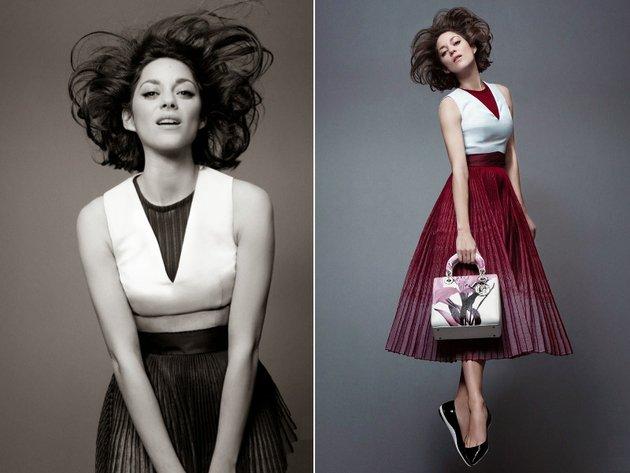 Marion Cotillard Lady Dior Campaign 2014