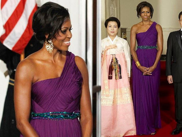 Michelle Obama Doo Ri Chung Dress