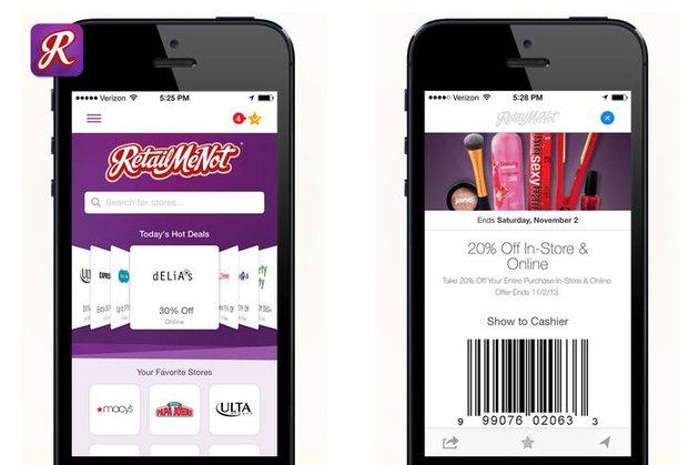 Retail Me Not App