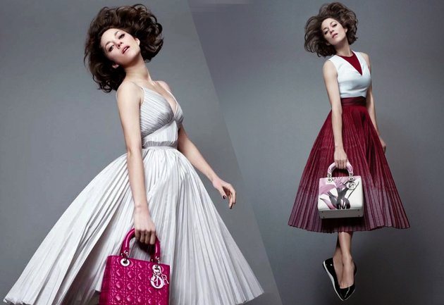 Lady Dior 2014 Campaign Featuring Marion Cotillard
